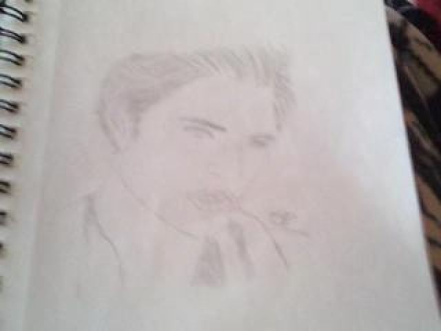Edward Cullen drawing 2