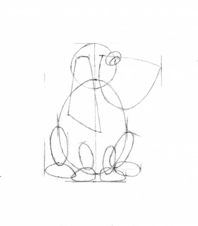 Frog Dog construction drawing
