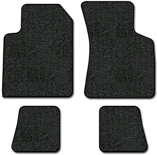 2000-2007 Audi TT Coupe 4 pc Set Factory Fit Floor Mats