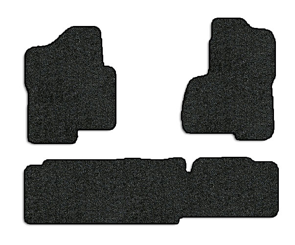 2000-2002 GMC Sierra 3 pc Set Factory Fit Floor Mats (Crew Cab)