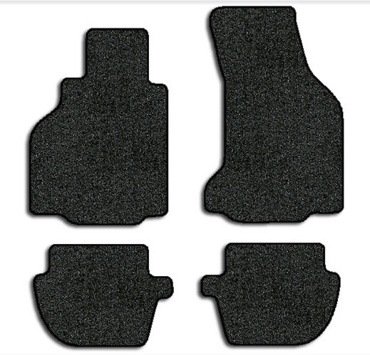 1999-2004 Porsche 911 4 pc Set Factory Fit Floor Mats (Convertible/Targa)
