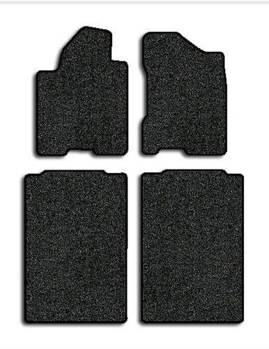 carpeted charcoal king oem nissan black set cab mats titan new floor