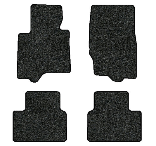 2014-2016 Infiniti QX70 4 pc Set Factory Fit Floor Mats