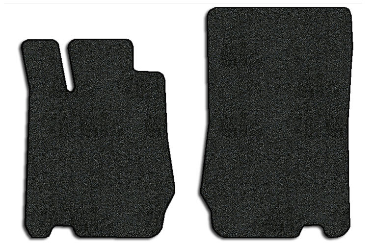 2009 2012 mercedes benz sl class 2 pc front factory fit for Mercedes benz sl550 floor mats