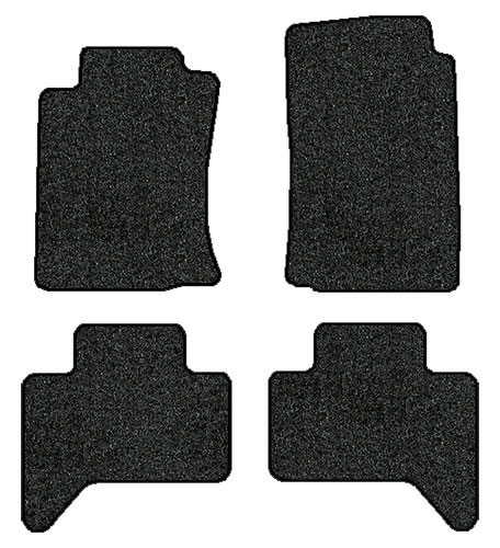 2008 2010 toyota tacoma 4 pc set factory fit floor mats. Black Bedroom Furniture Sets. Home Design Ideas