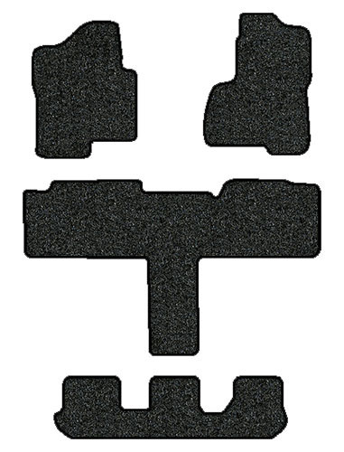 "2003-2006 Cadillac Escalade ESV 4 pc ""T"" Set Factory Fit Floor Mats"