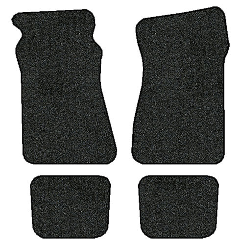 1970-1981 Chevrolet Camaro 4 pc Set Factory Fit Floor Mats