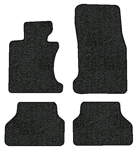 2004-2010 BMW 5 Series 525xi 528xi 530xi 535i 535xi (E60) 4pc Floor Mats