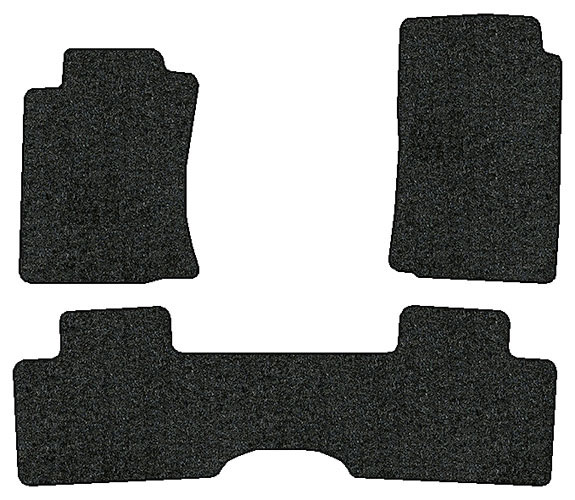 2009 2010 toyota tacoma 3 pc set factory fit floor mats. Black Bedroom Furniture Sets. Home Design Ideas