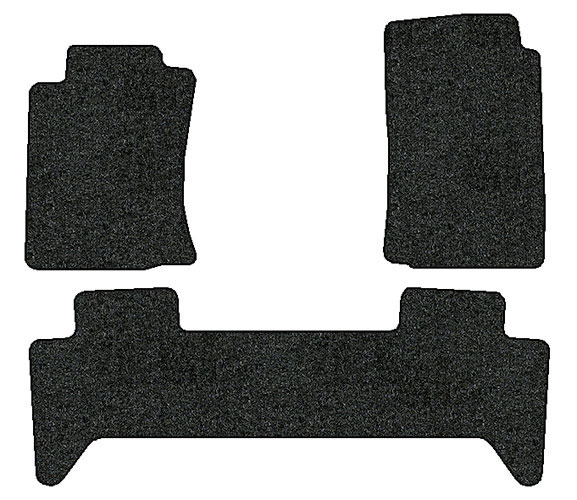 2008 2010 toyota tacoma 3 pc set factory fit floor mats. Black Bedroom Furniture Sets. Home Design Ideas