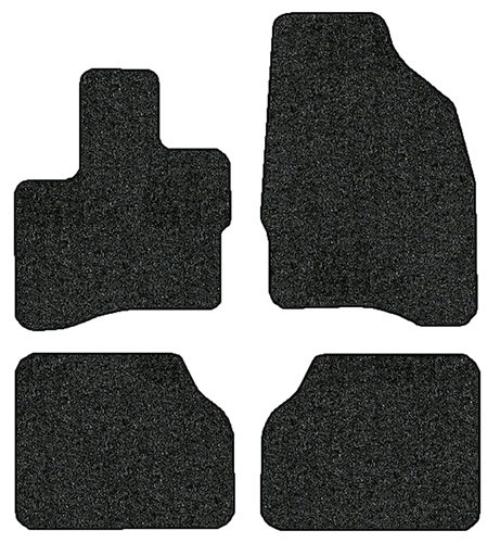 2011-2016 Lincoln MKS 4 pc Set Factory Fit Floor Mats
