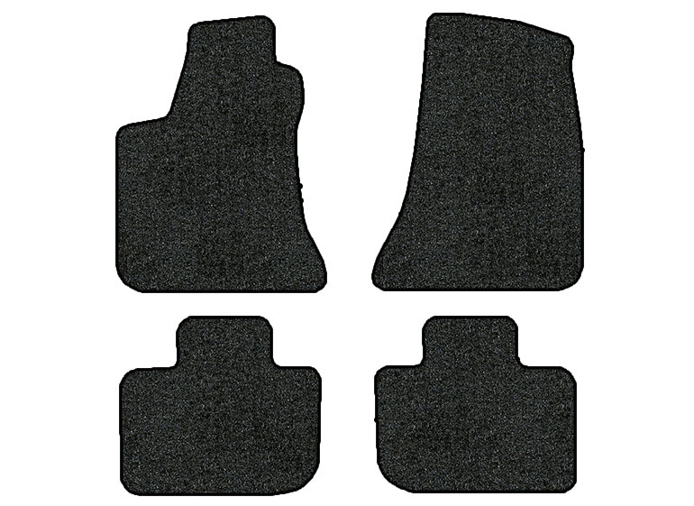 2011-2016 Dodge Charger 4 pc Set Factory Fit Floor Mats (RWD)
