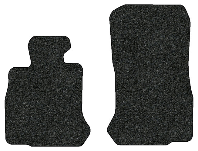 2012-2016 BMW 650i Convertible (F12 & F13) 2 pc Front Factory Fit Floor Mats