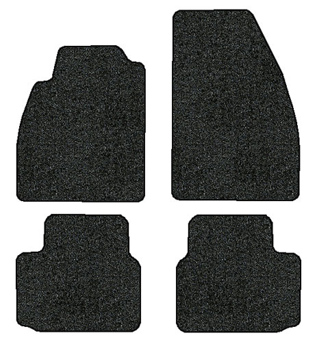 2013 2015 chevrolet malibu 4 pc set factory fit floor mats. Black Bedroom Furniture Sets. Home Design Ideas