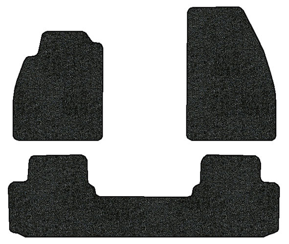 2013 2015 chevrolet malibu 3 pc set factory fit floor mats. Black Bedroom Furniture Sets. Home Design Ideas