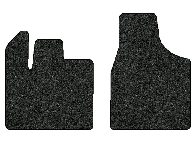 2012-2016 Chrysler Town & Country 2 pc Front Factory Fit Floor Mats