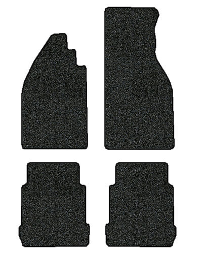 1971-1979 Volkswagen Super Beetle 4 pc Set Factory Fit Floor Mats