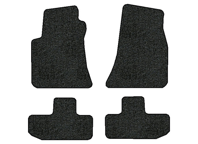 2011-2016 Dodge Challenger 4 pc Set Factory Fit Floor Mats