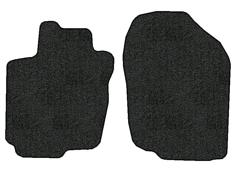 2012 2014 toyota rav4 ev 2 pc front factory fit floor mats. Black Bedroom Furniture Sets. Home Design Ideas