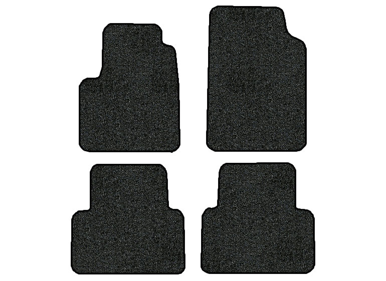 2015-2016 Chevrolet Colorado 4 pc Set Factory Fit Floor Mats (Crew Cab)