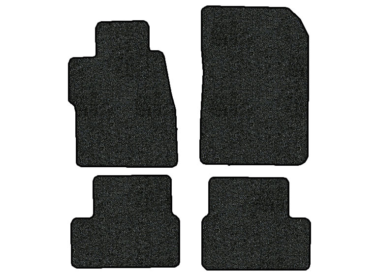 2015-2016 Honda Civic 4 pc Set Factory Fit Floor Mats (Coupe)