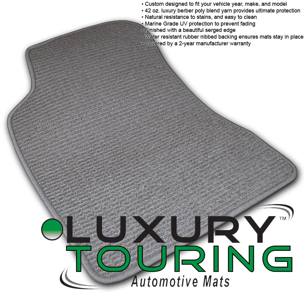 Rubber floor mats range rover evoque -  2012 2016 Land Rover Range Rover Evoque 4 Pc Set Factory Fit Floor Mats