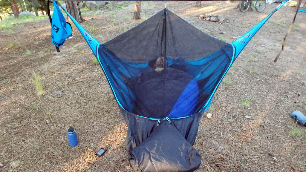 the design is entirely foreign to most hammock users situating a person perpendicular to the suspension line  most hammocks have you at least slightly     head to head  camping hammock  u0027hang off u0027 test  rh   gearjunkie