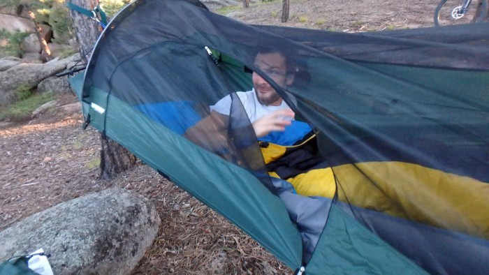 blue ridge camping hammock head to head  camping hammock  u0027hang off u0027 test  rh   gearjunkie