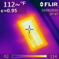 IR 0195 vent while furnace is on