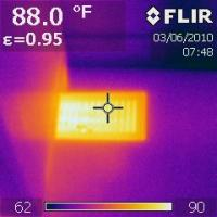 IR 0199 upstairs MBR SE vent (12 degress cooler than downstairs vent)