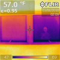 IR 0833 MBR S windows no drapes, right is Diamond glass replacement