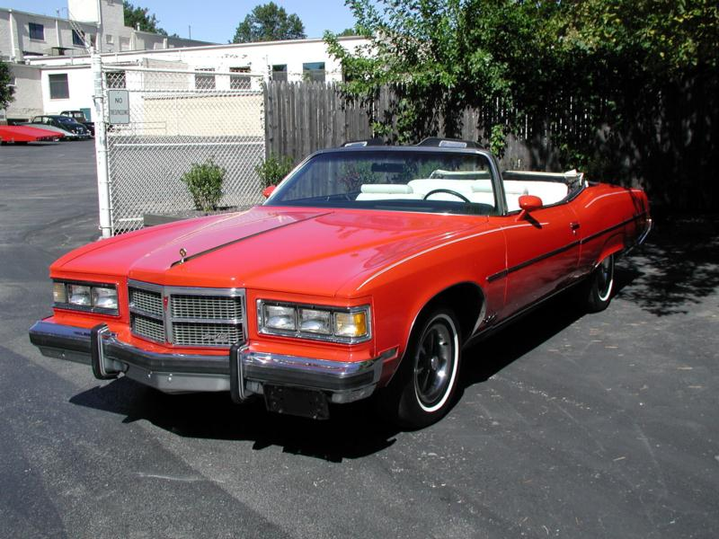 1975 Pontiac Grand Ville Convertible