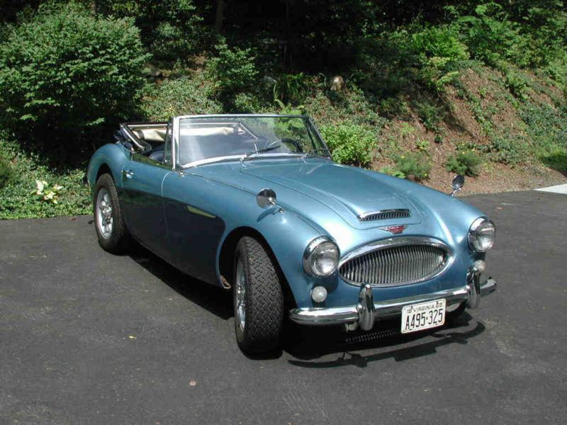 1965 Austin-Healey 3000 Mk III BJ8 ph2