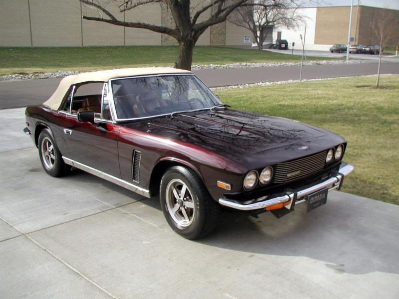 1974 Jensen Interceptor SIII Convertible