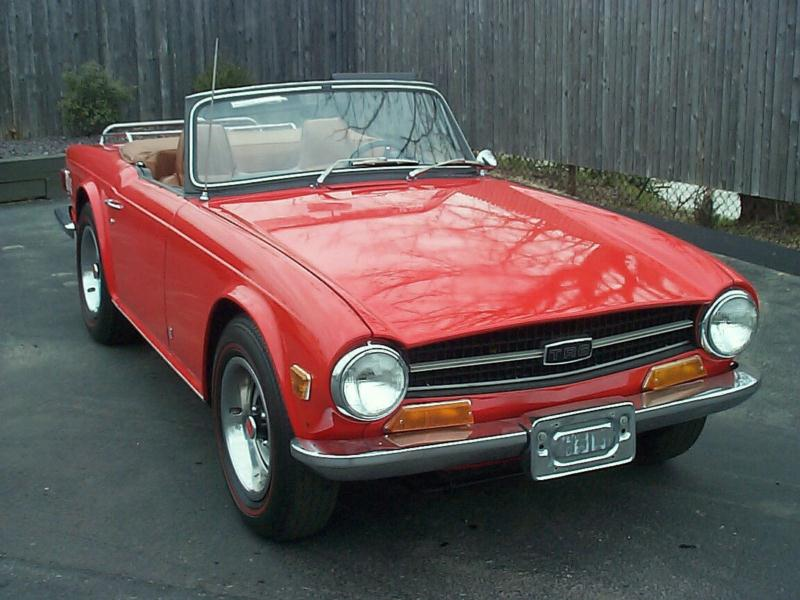 1969 Triumph Tr6 Values Hagerty Valuation Tool 174