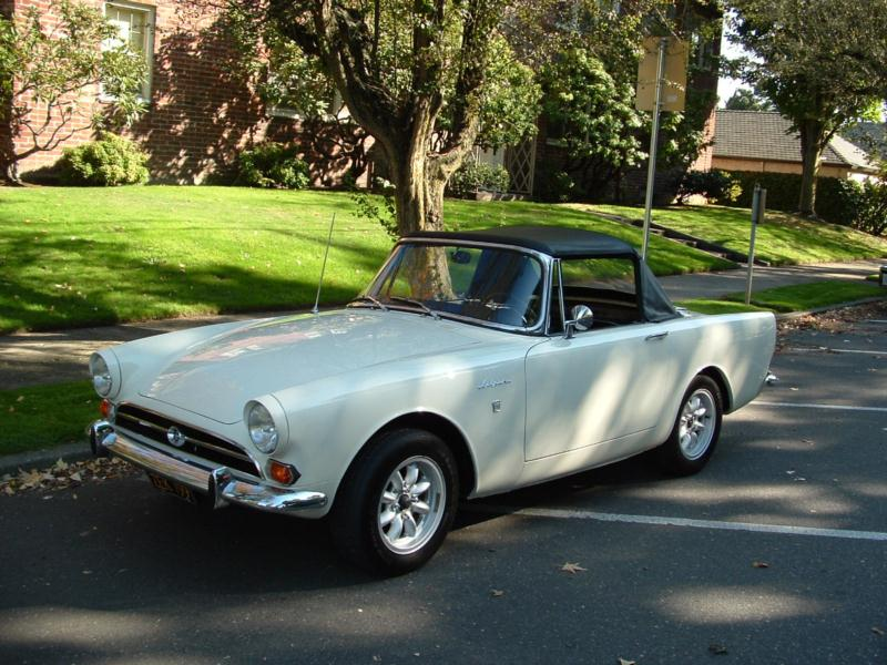 1966 Sunbeam Alpine Convertible