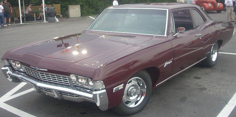 1968 Chevrolet Biscayne Coupe
