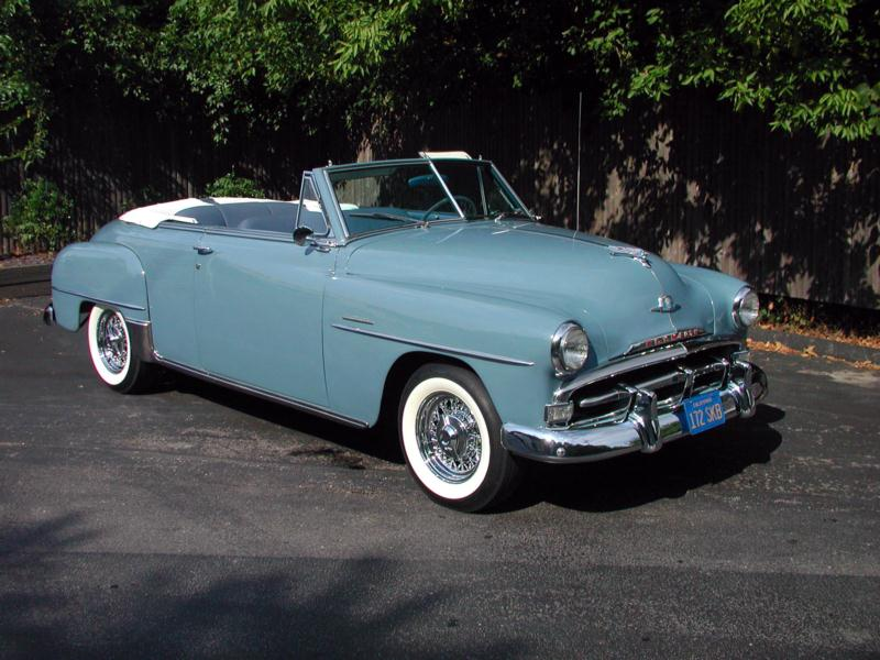 1951 Plymouth Cranbrook Convertible