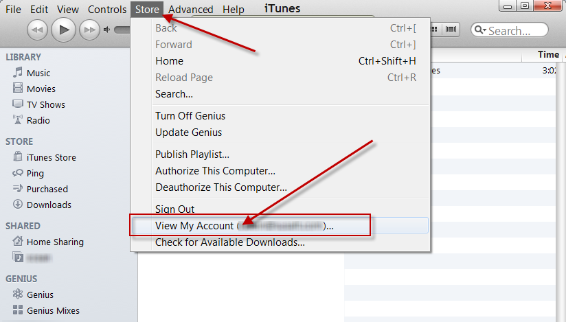 itune how to change id