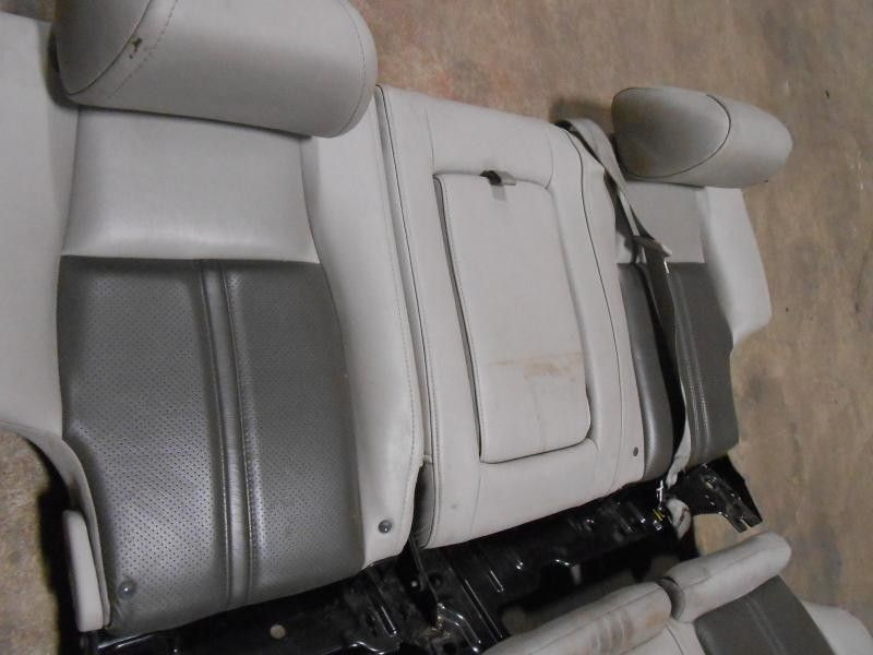 2005 jeep grand cherokee rear bench seat gray leather 321891 ebay. Black Bedroom Furniture Sets. Home Design Ideas