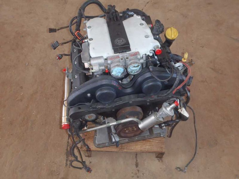 1998 98 Cadillac Catera Engine 3 0l Vin R 8th Digit 6