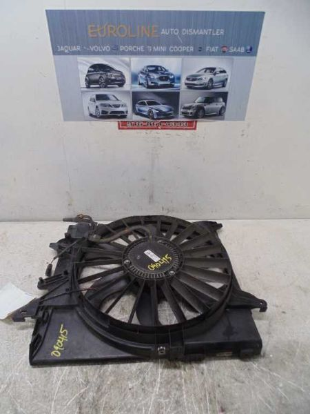 04 05 JAGUAR S TYPE RADIATOR FAN MOTOR FAN ASSEMBLY FROM VIN N13293 35298