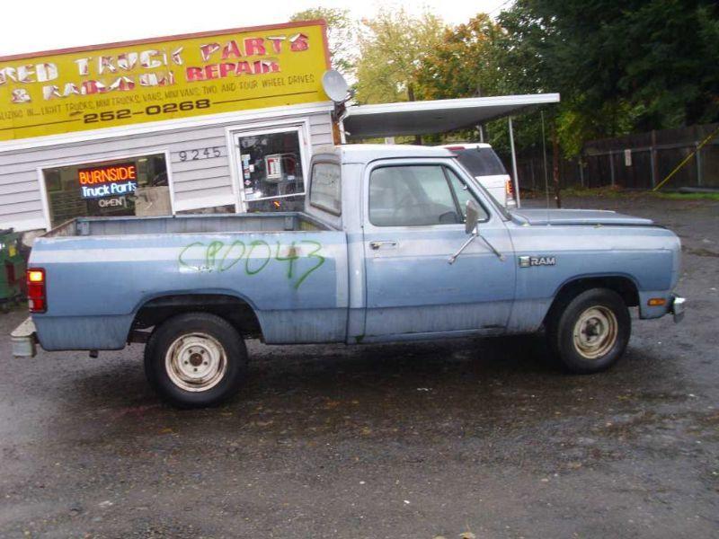 79 80 81 82 83 84 85 86 87 88 89 90 Dodge Ram 150 Pickup R