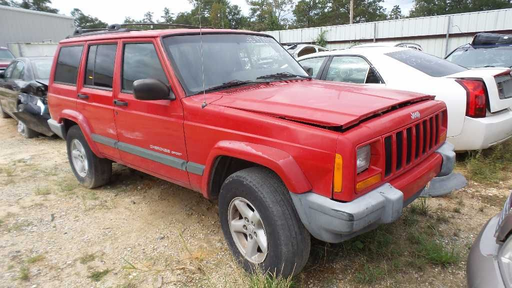 Used 2001 Jeep Cherokee Sport Bumper End Caps For Sale