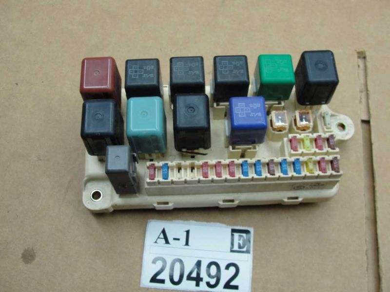 1998 1999 2000 lexus ls400 fuse box interior dash panel board ls400