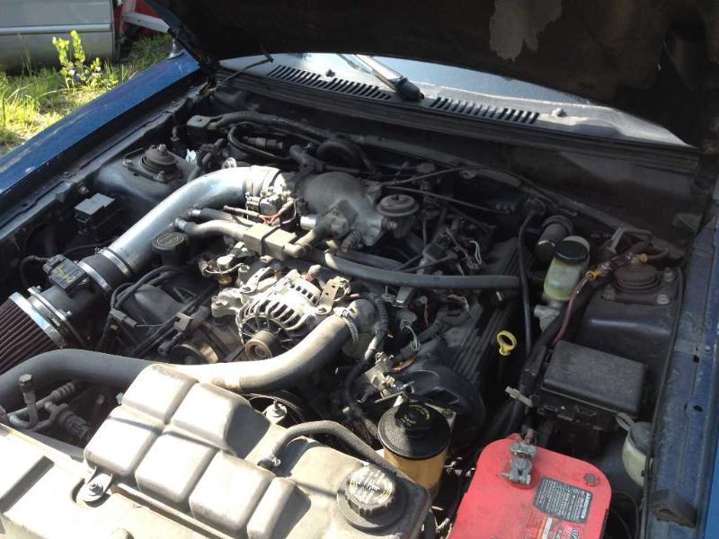 Engine 4 6l Vin X 8th Digit Sohc Gt Fits 99 Mustang 614842