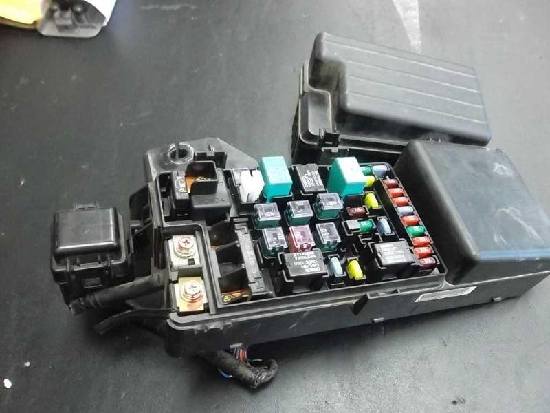 2003 Honda Accord Engine Fuse Box : Fuse box engine dr honda accord