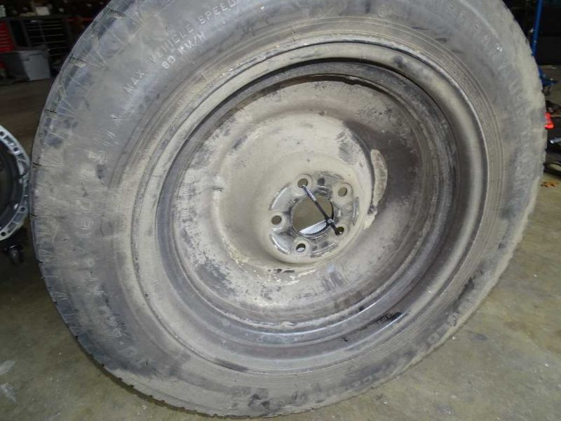 03 mercedes ml350 w163 spare 18 x 4 inch wheel rim tire for Mercedes benz ml320 tires