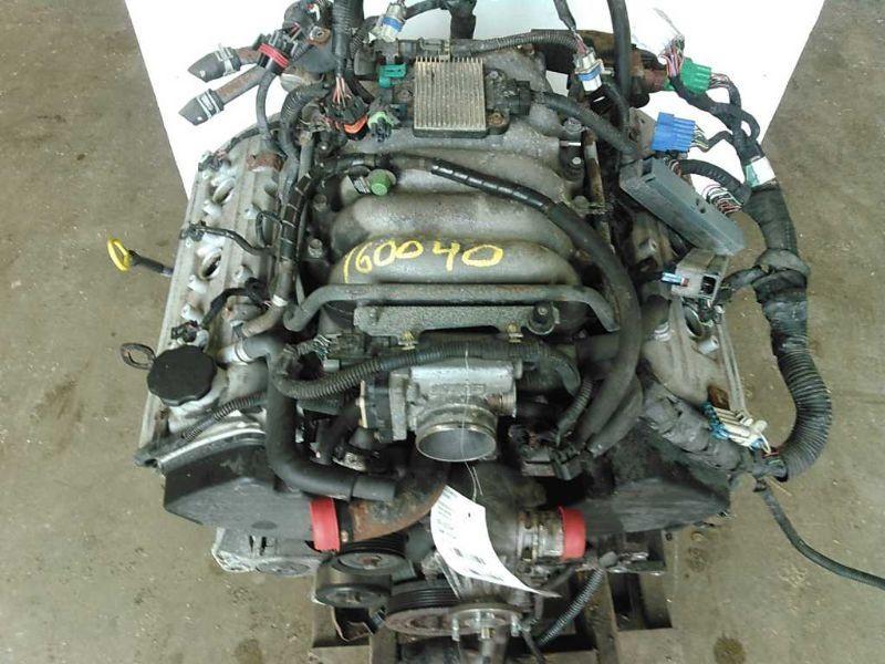 01 02 03 04 ISUZU RODEO ENGINE 2 DR SPORT 4 DR 3.2L VIN W ...