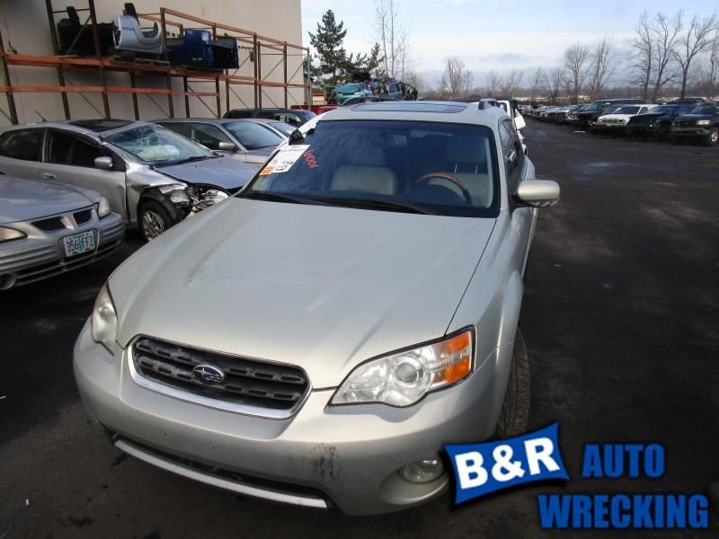 CHASSIS ECM AIR BAG UNDER CONSOLE OUTBACK FITS 06-07 LEGACY 10117676